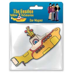 The Beatles Rubber Magnet: Yellow Submarine