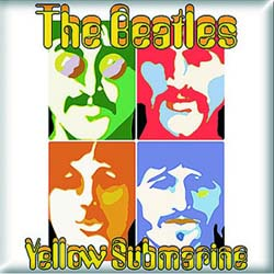 The Beatles Fridge Magnet: Yellow Submarine Sea of Science