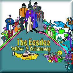 The Beatles Fridge Magnet: Yellow Submarine Album
