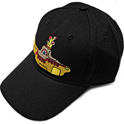 The Beatles Men's Baseball Cap: Yellow Submarine (Black)