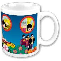 The Beatles Boxed Standard Mug: Yellow Submarine Portholes