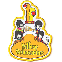 The Beatles Standard Patch: Yellow Submarine All Aboard (Loose)