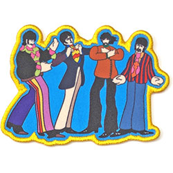The Beatles Standard Patch: Yellow Submarine Sub Band (Loose)