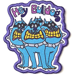 The Beatles Standard Patch: Yellow Submarine Hey Bulldog (Loose)