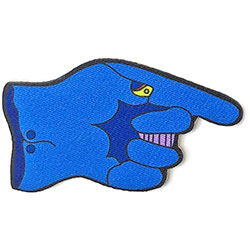 The Beatles Standard Patch: Yellow Submarine The Dreadful Flying Glove (Loose)