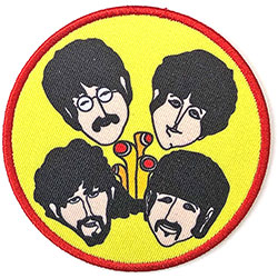 The Beatles Standard Patch: Yellow Submarine Perryscopes & Heads (Loose)