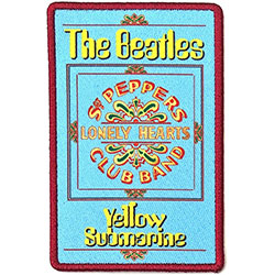 The Beatles Standard Patch: Yellow Submarine Lonely Hearts (Loose)