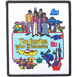 The Beatles Standard Patch: Yellow Submarine Movie Poster (Loose)