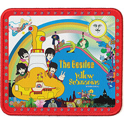 The Beatles Standard Patch: Yellow Submarine Stars Border (Loose)