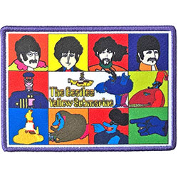 The Beatles Standard Patch: Yellow Submarine Characters (Loose)