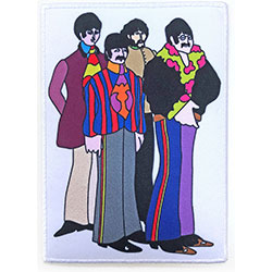 The Beatles Standard Patch: Sub Band Border