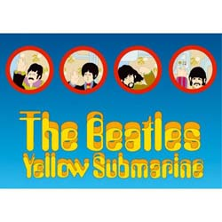 The Beatles Postcard: Portholes (Standard)