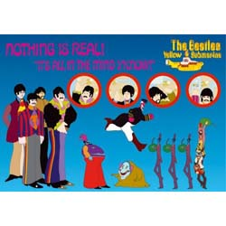 The Beatles Postcard: Nothing is Real (Standard)