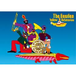 The Beatles Postcard: Yellow Submarine (Standard)