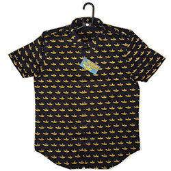 The Beatles Unisex Casual Shirt: Yellow Submarine