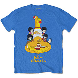 The Beatles Men's Tee: Yellow Submarine Sub Sub