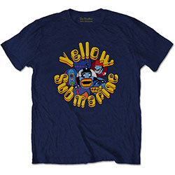 The Beatles Men's Tee: Yellow Submarine Baddies