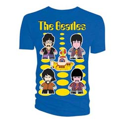 The Beatles Ladies Tee: Yellow Submarine Titans (Medium Only)