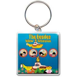 The Beatles Standard Keychain: Yellow Submarine Portholes