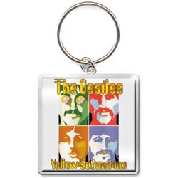 The Beatles Standard Keychain: Yellow Submarine Sea of Science