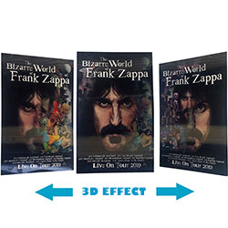 Frank Zappa Poster: Bizarre World Of… 2019 Tour (3D)