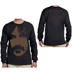 Frank Zappa Unisex Long Sleeved Tee: Apostrophe (Back Print)