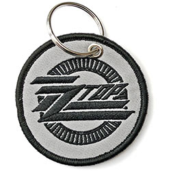 ZZ Top Keychain: Circle Logo (Double Sided Patch)
