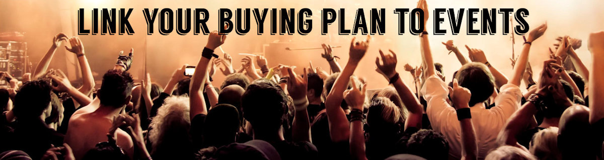 Link your buying plans to special events