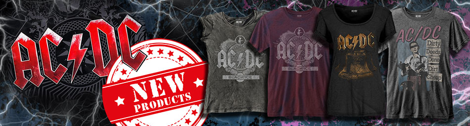 ACDC Wholesale Band Merch