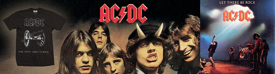 Official Licensed ACDC Merchandise available on a wholesale basis