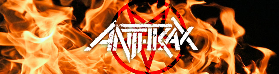 Anthrax Official Licensed Band Merchandise