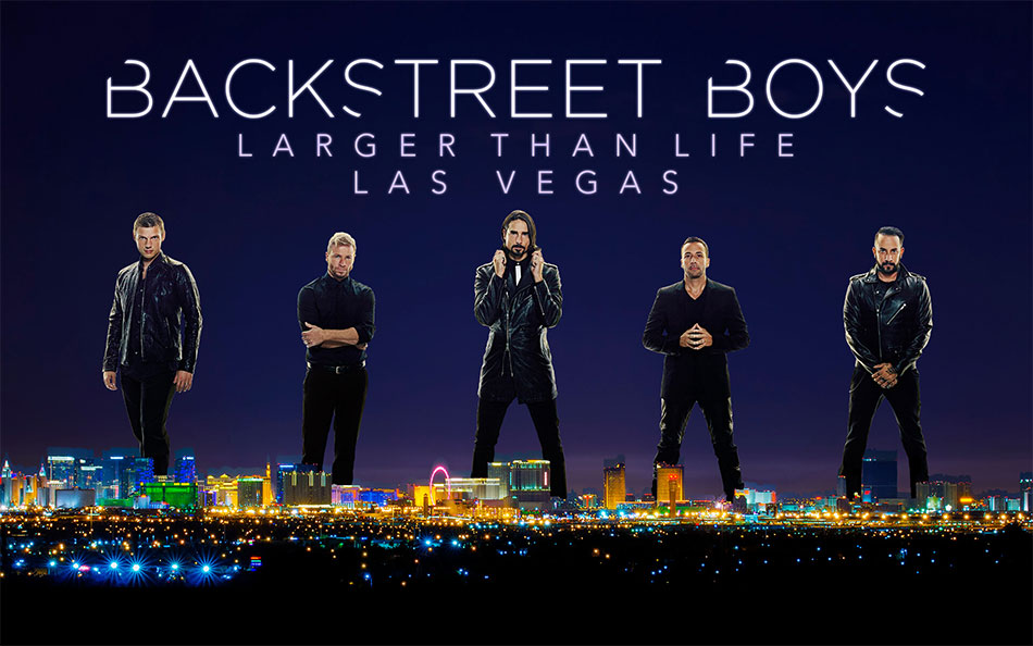 Backstreet Boys Larger Than Life