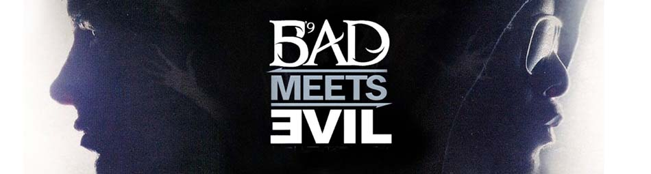 Official Licensed Bad Meets Evil Merchandise