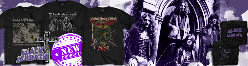 Black Sabbath new arrivals