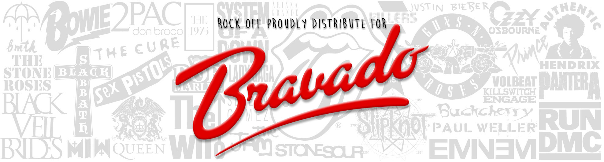 Rock Off Distribute Bravado Merchandise