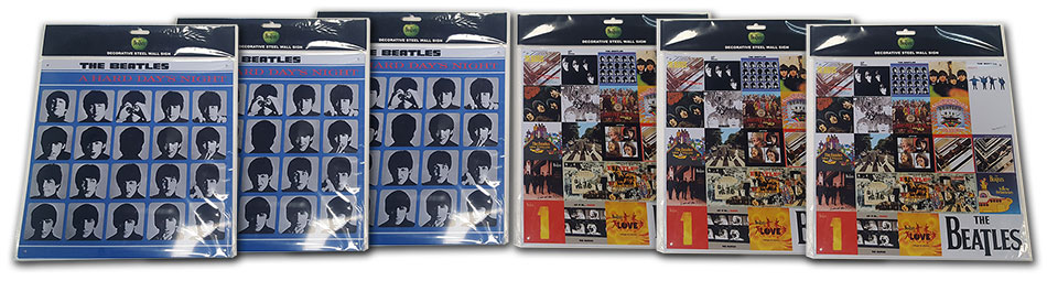 The Beatles Steel Wall Signs Banner