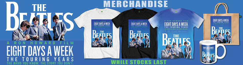 The Beatles 8 Days A Week Banner