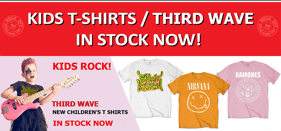 Kids T Shirts / Third Wave in Stock Now