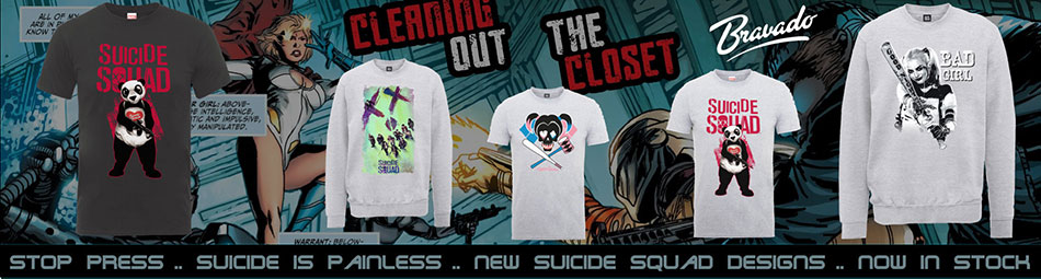 Rock Off suppliers of DC Comics Tees to the trade & wholesale
