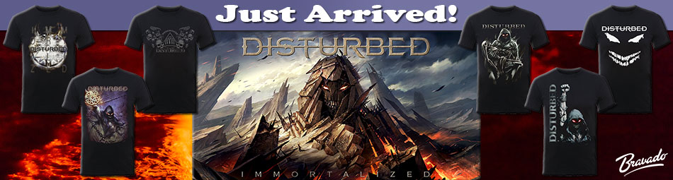 Disturbed Band Tee Banner