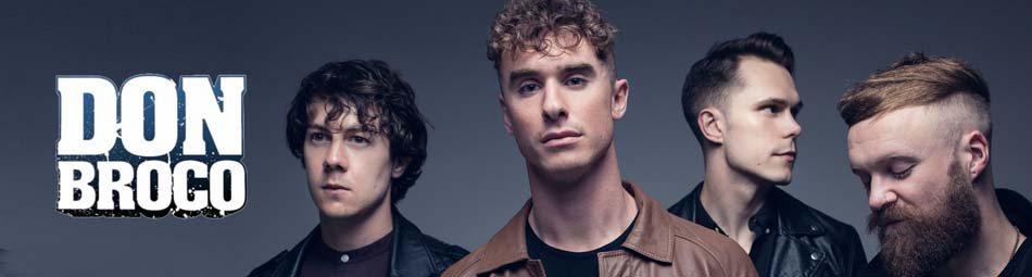 Don Broco Wholesale Band Merchandise