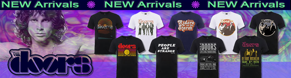 The Doors new band tees January 2018