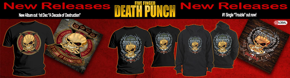New Releases Five Finger Death Punch Trouble & A Decade of Destruction