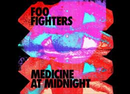 Foo Fighters Medicine At Midnight Official Licensed Merchandise