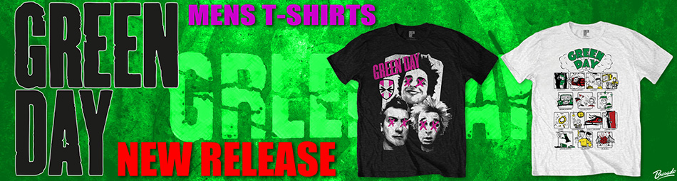 Green Day New Tee Releases