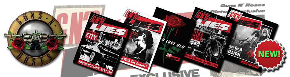 Guns N Roses Lies Official Licensed 30th Anniversary Merchandise