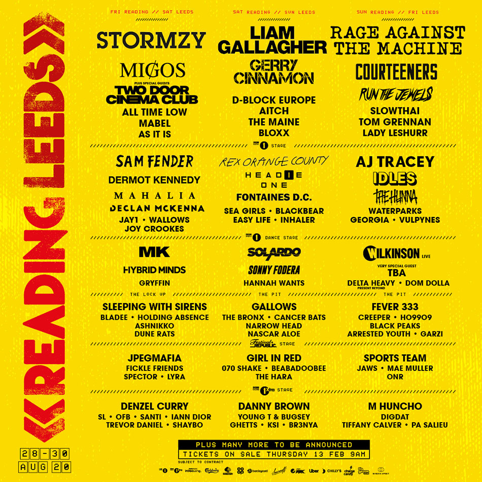 Reading and Leeds Festival 2002