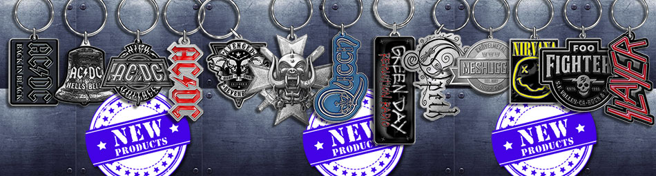 Wholesale Official Licensed Metalware Keychains, Zipper Pulls, Belt Buckles & Money Clips
