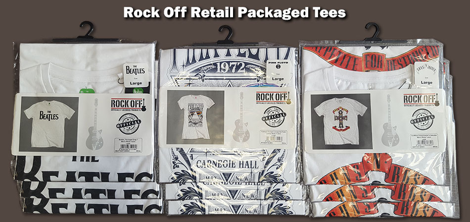 Mixed Artists Retail Packaged Tees