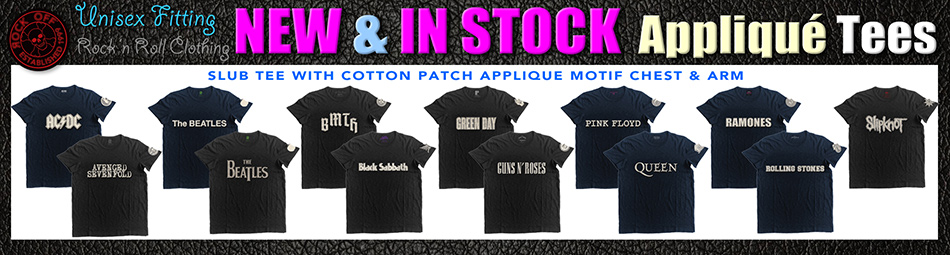 Black Label Applique Tees